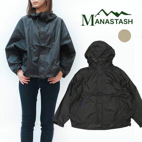 MANASTASH マナスタッシュ レディース ナイロン ウインドブレーカー ジャケット ナイロンパーカー 7202010【2020年 春夏 新作】