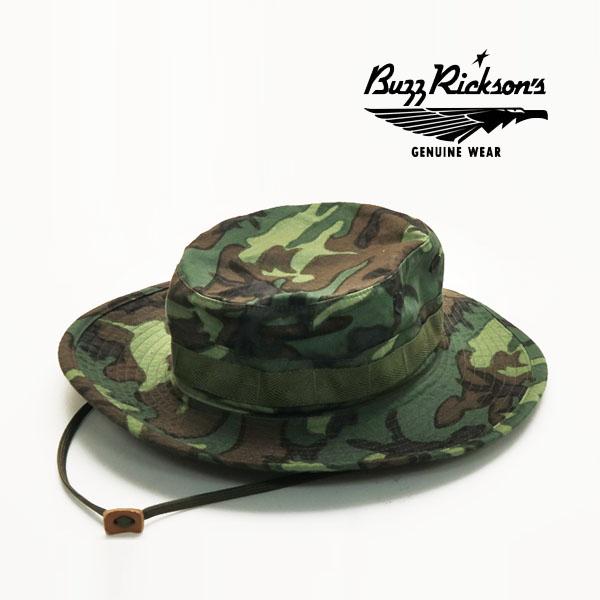 待望 日本製 メンズ 送料無料 代引き手数料無料 新色 バズリクソンズ Buzz Rickson's カモフラージュ 帽子 BR02666 ハット トロピカル コンバットタイプ HAT