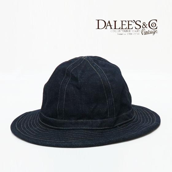 DALLES & CO ダリーズ&コー 40S アーミーハット デニム ARMY HAT INDIGO デラックスウェア DELUXEWARE