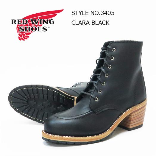 REDWING WOMEN'S レザー レースアップ ブーツ Clara クララ Style No.3405 【2020年 春夏 新作】