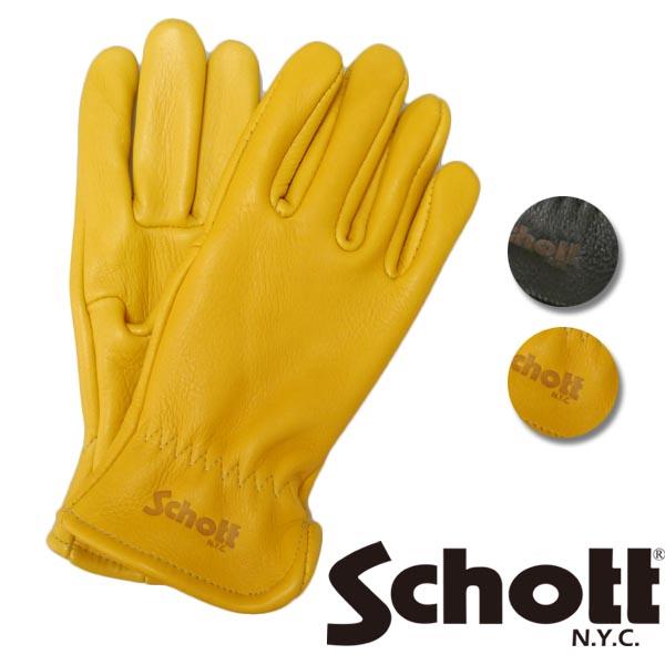 ショット Schott グローブ エルクスキン 鹿革 3159030