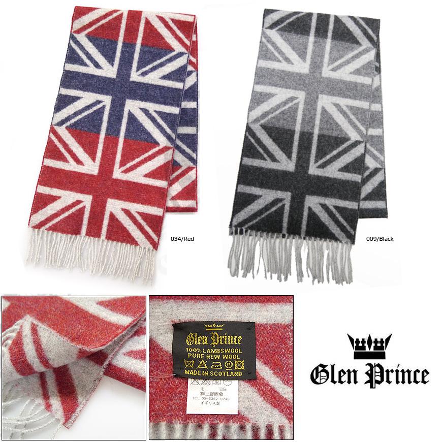 格伦 · 格伦王子围巾羊毛国旗国旗 SLS15 41027