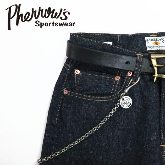 フェローズ Pherrow's ブラス ウォレットチェーン 真鍮 lozen-wc