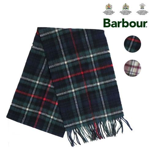 バブアー バーブァー Barbour ウール マフラー ラージ チェック ストール ユニセックス wool Muffler 43658