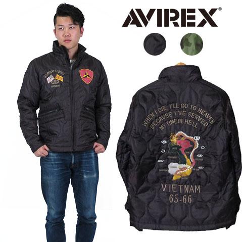AVIREX アビレックス VIETNAM JACKET アウター ベトナムジャケット 刺繍 ミリタリー AVI6172129