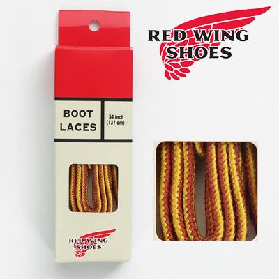 安心の日本正規販売店 REDWING レッドウィング 純正 タスラン ブーツレース 靴紐 タン×ゴールド Style No.97125 54インチ 買物 お気に入
