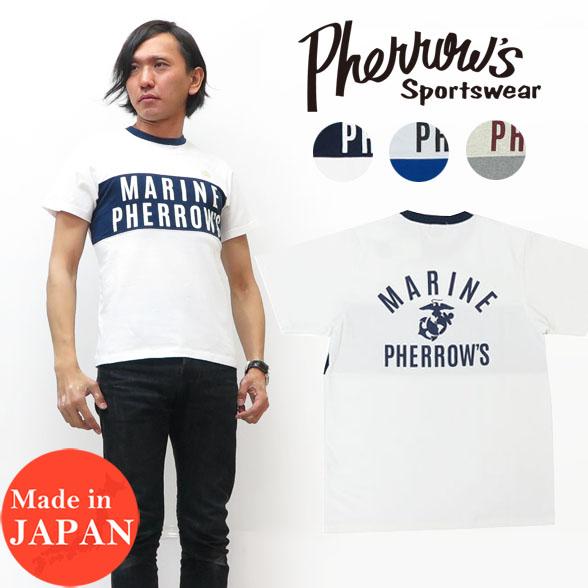 フェローズ Pherrow's 半袖 Tシャツ