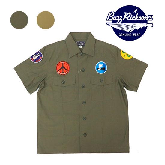 バズリクソンズ BUZZ RICKSON'S ベトナムシャツ 半袖 ワークシャツ