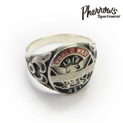 フェローズ Pherrow's リング シルバー925 ''VETERAN RING''