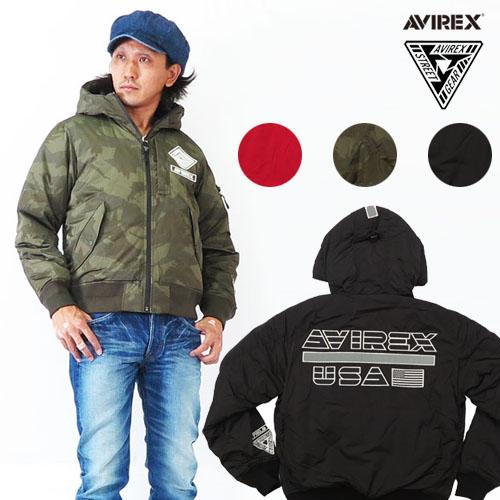 AVIREX アビレックス MA-1 フライトジャケット ソフトシェル 刺繍 ワッペン パッチ STREET GEAR ミリタリー 6182183