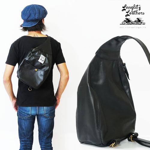 ラングリッツレザーズ Langlitz Leathers ワンショルダー バッグ One Shoulder Bag レザー ショルダーバッグ ボディバッグ 革 バイク 【2018年 秋冬 新作】
