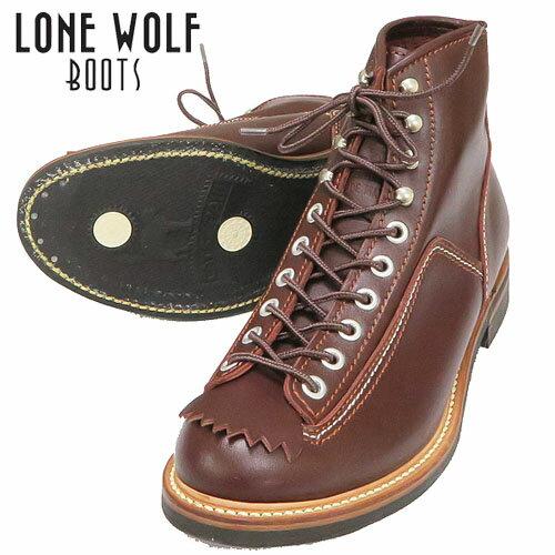 LONEWOLF BOOTS ロンウルフブーツ ワークブーツ キャッツポウソール CAT'S PAW SOLE CARPENTER ブラウン 138 f01615 ※返品・交換不可 送料・代引き手数料が別途かかります。