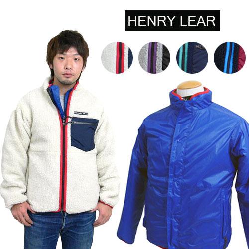 HENRYLEAR ヘンリーレア リバーシブルパイルジャケット