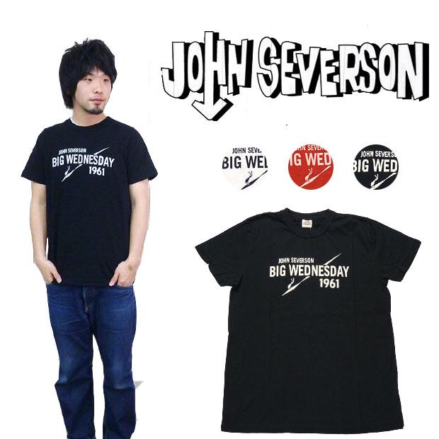 ジョンセバーソン John Severson 半袖 Tシャツ プリント「BIG WEDNESDAY」