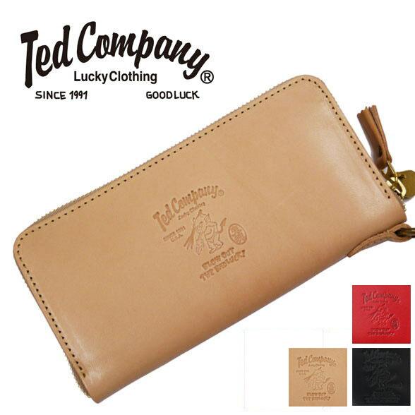 テッドマン テッドマンズ TEDMAN'S ラウンドジッパー ロングウォレット 栃木レザー テッドン刻印 専用桐箱付き TDW-250