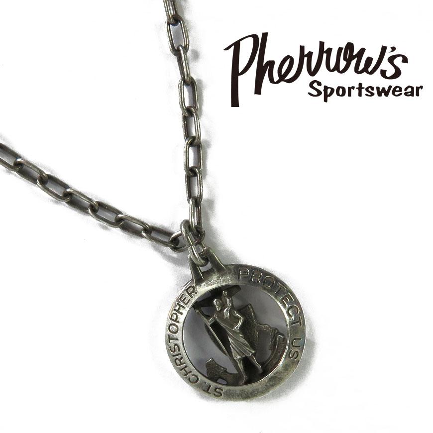 フェローズ Pherrow's ペンダント シルバー925 「U.S.N. PENDANT」