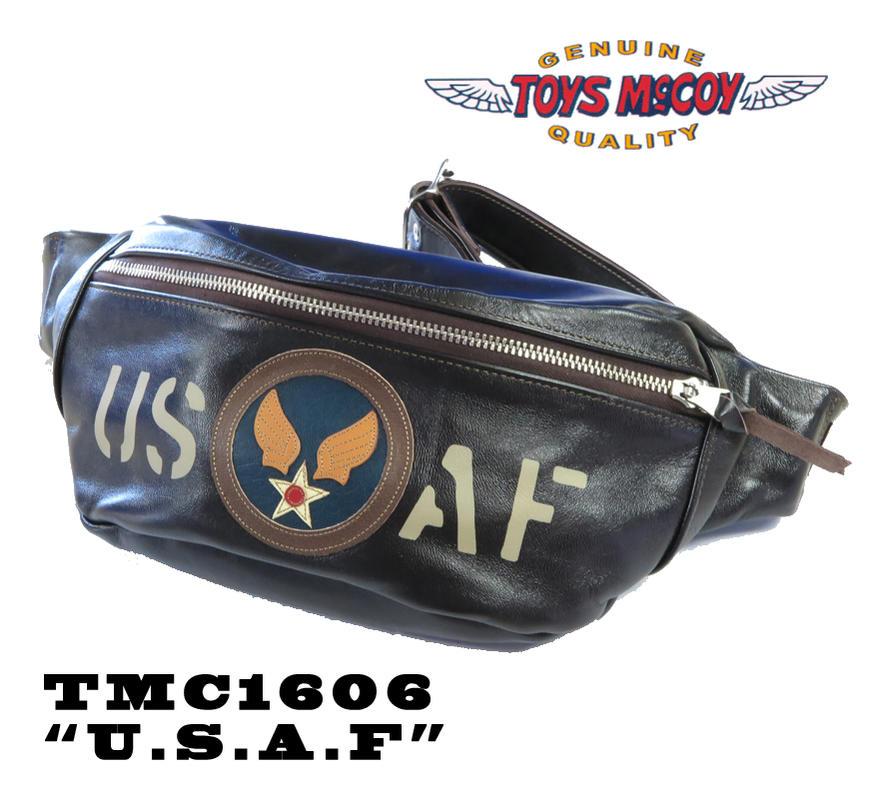 トイズマッコイ TOYS McCOY レザーキルティング ボディ バッグ LEATHER QUILTED BODY BAG TMA1606