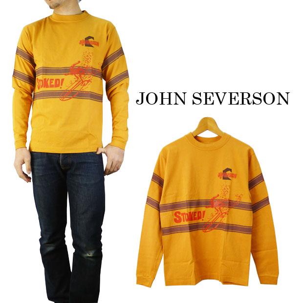 John Severson ジョンセバーソン ジョンセバーソン長袖Tシャツ