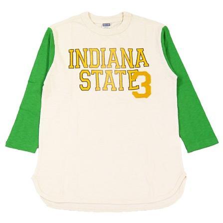 チェスウィック Cheswick Tシャツ 7分袖 ベースボール 「INDIANA STATE 3」 CH66739