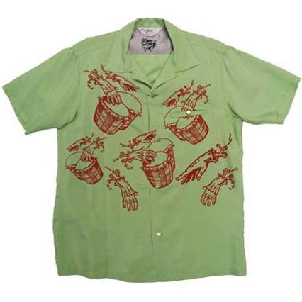 STAR OF HOLLYWOOD スター オブ ハリウッド 半袖 オープンシャツ アロハ ハワイアンシャツ VINCE RAY ヴィンスレイ BEATNIK MONSTER SH36594