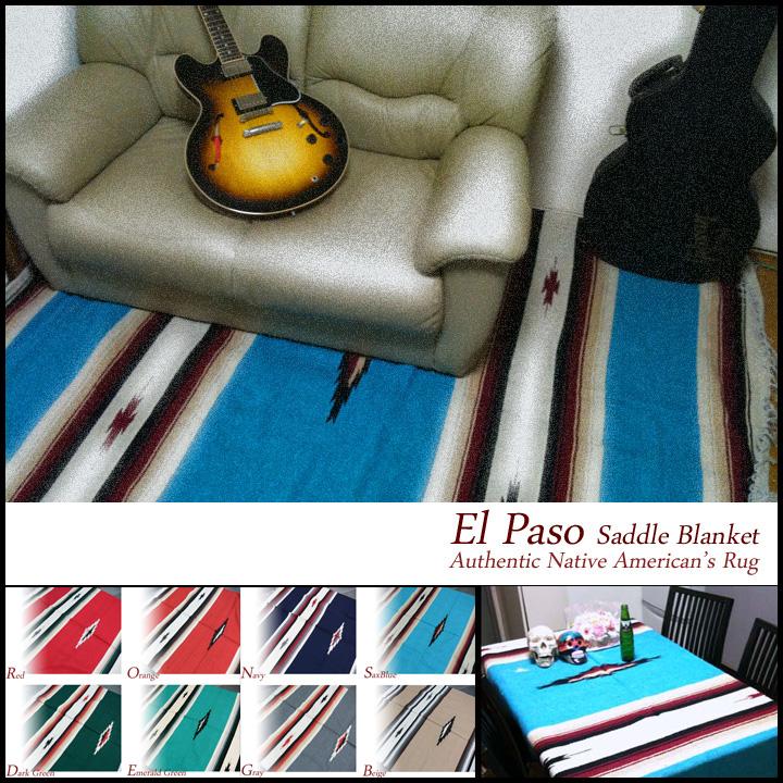 KCu0027s Caches ELPASO SADDLEBLANKET Company Native American Blankets Rugs  Carpet Mats Diamond Pattern