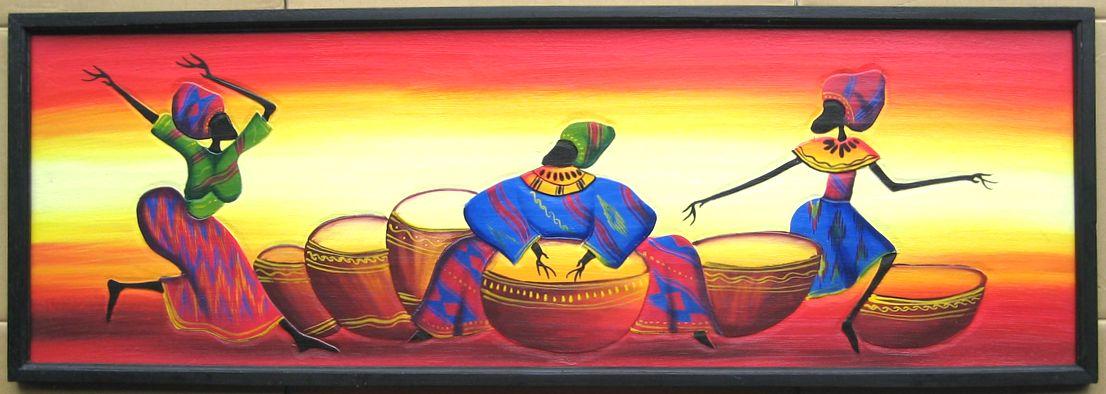 全品最安値に挑戦 色鮮やかな彫刻絵画 オーバーのアイテム取扱☆ 木彫り彫刻画☆アフリカン アート≪120×40≫02