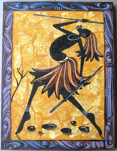 業界No.1 アフリカンモチーフのキャンバス絵画 キャンバス画☆アフリカン 格安SALEスタート アート≪80×60≫01
