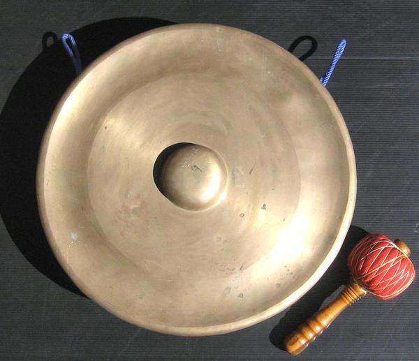 【銅製】☆バリゴング《銅鑼》☆60cm径≪G♯≫