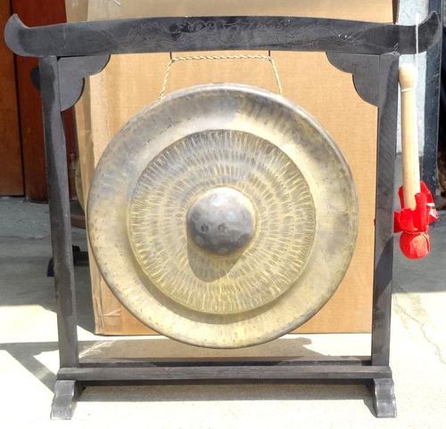 ベトナムゴング《銅鑼》☆スタンド付き40cm径