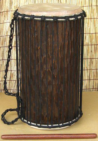 インドネシア製ドゥンドゥン(ジュンジュン)《マホガニー》~ケンケニ(単体)~