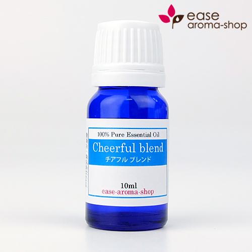 メール便可 Cheerful blend チアフル 10ml 定番から日本未入荷 oil ブレンドオイル 訳あり商品