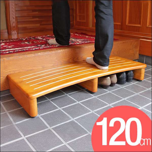 ◆送料無料◆ 玄関 踏み台 幅 120cm 天然木 木製 子供 キッズ 玄関台 120 介護 玄関ステップ ステップ 玄関踏み台 階段 スロープ 北欧 シンプル【代引き・後払い不可】