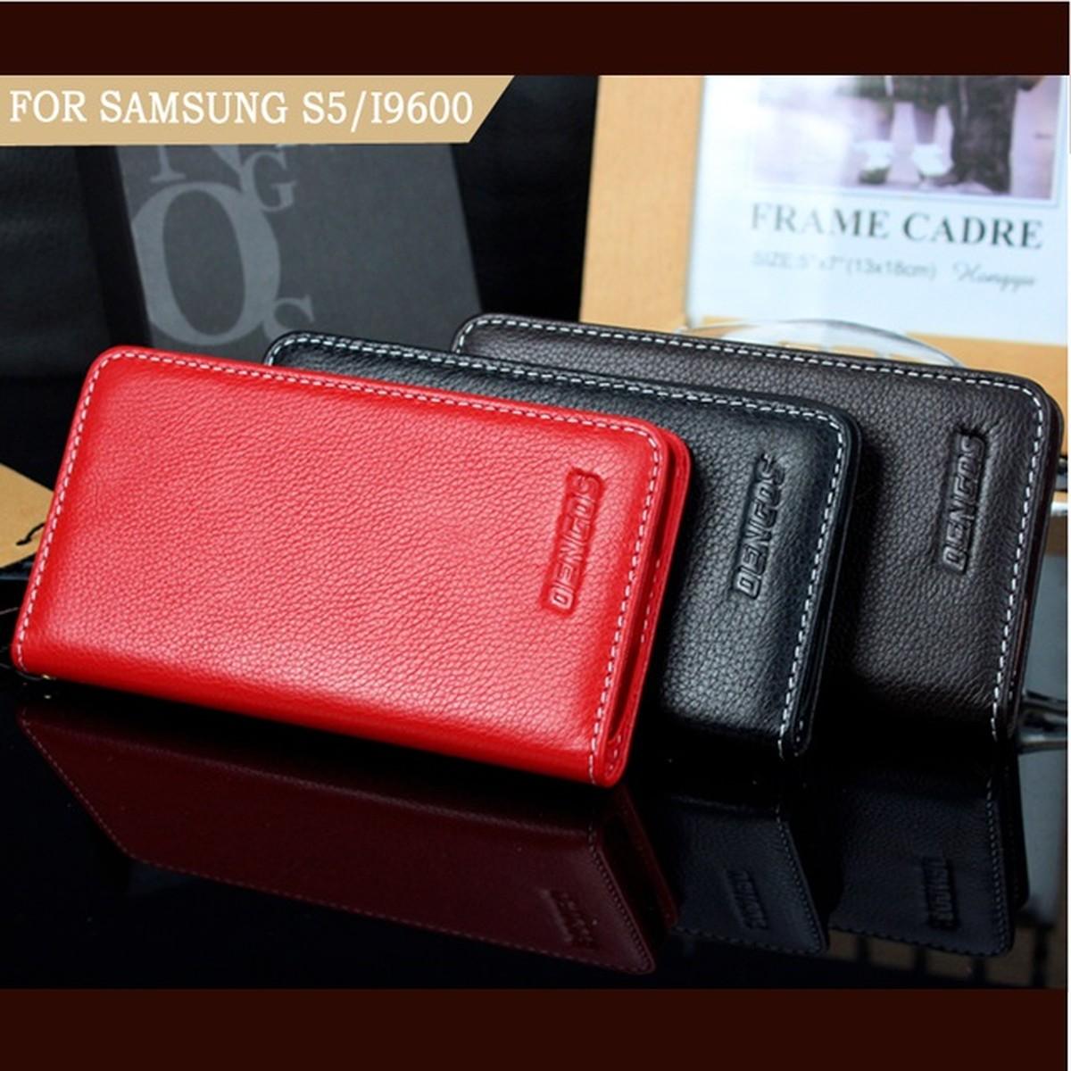 ゆうパケット メール便 100%品質保証! 送料200円 Galaxy S5 SC-04F SCL23 高級本革 期間限定の激安セール カバー スマートフォンケース 本革ケース 黒色 濃い茶 牛革 赤色