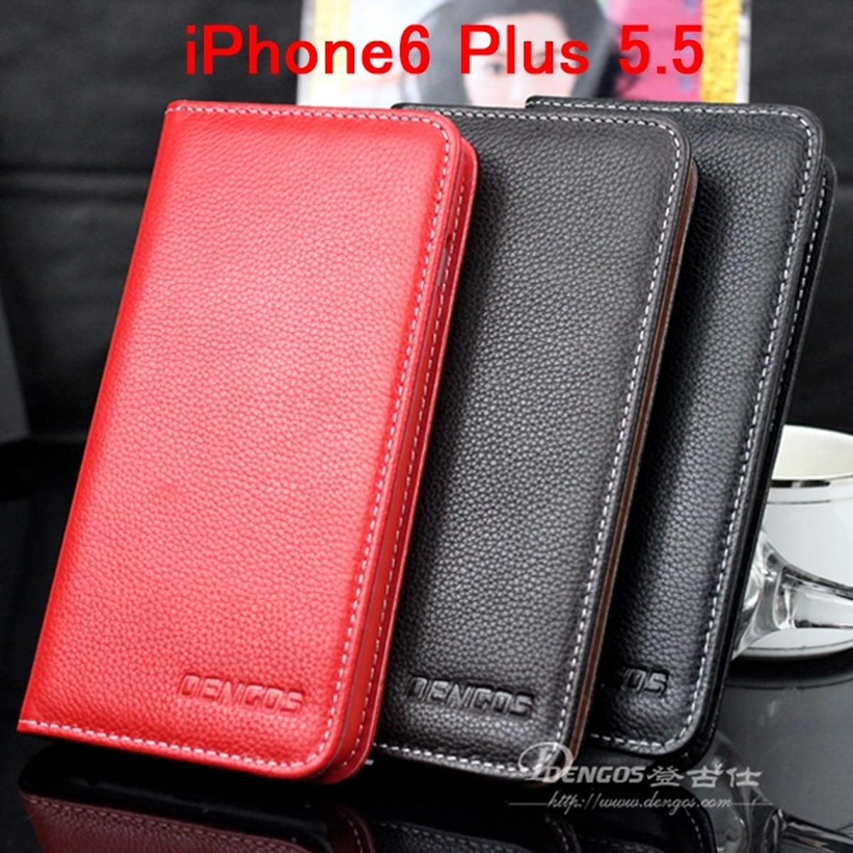 超人気 ゆうパケット メール便 送料200円 iPhone6 送料無料限定セール中 Plus iPhone6s 5.5インチ 高級本革 濃い茶 黒色 カバー 牛革 赤色 本革ケース スマートフォンケース
