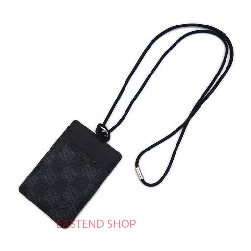 louis vuitton id card holder n64001 damier graphite - Id Card Holder