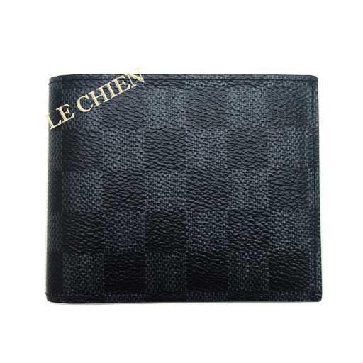 【未使用】ルイヴィトン 二つ折り財布 N41635 ポルトフォイユ・アメリゴ ダミエグラフィット