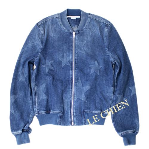 【未使用】ステラマッカートニー ボンバージャケット ブルーMサイズ