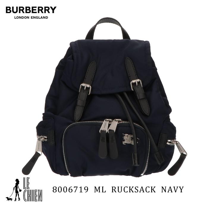 並行輸入品 \最安値挑戦中 新品 メーカー再生品 BURBERRY バーバリー リュックサック レディース 11008170 ネイビー バックパック 8006719 大注目 スモール