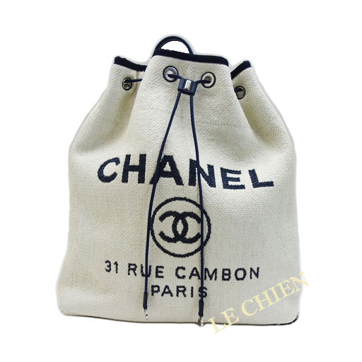 7dafff763194 LE CHIEN: The latest new article! Chanel Deauville backpack ...