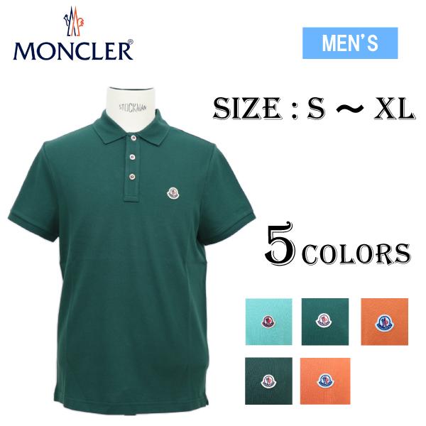 【並行輸入品】【新品】MONCLER モンクレール 83408 POLO SHIRT ポロシャツ 5色 女性着用可 メンズ