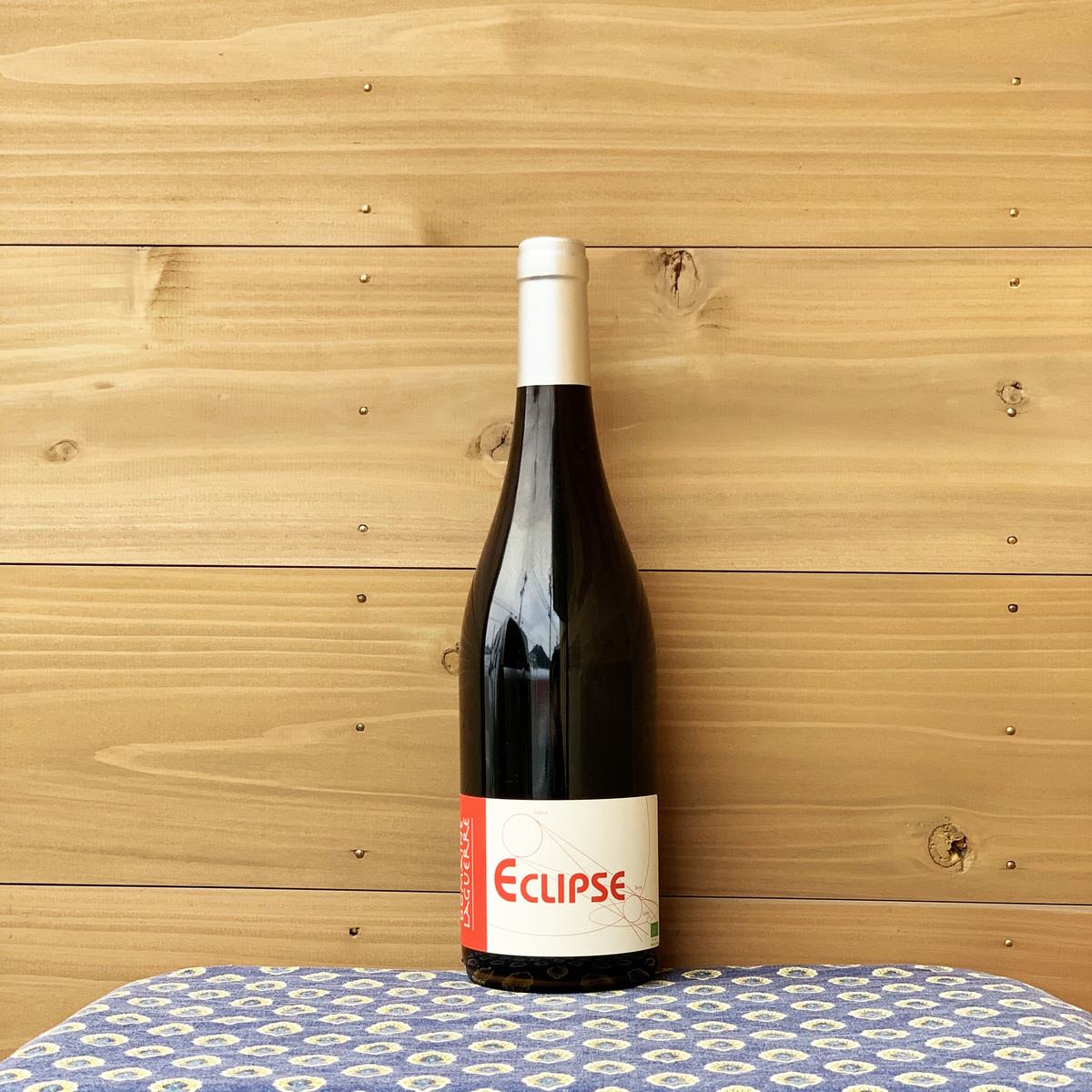 果実味たっぷり 旨みたっぷりでいながらごくごくナチュラルなのはさすがビオディナミ 凝縮感はあるもののタンニンは程よく クリアランスsale 期間限定 飲み口も優しいのが特徴です ルシヨン地方 正規品 フランス ドメーヌ エクリプス 赤ワイン ラゲール ルージュ '16 自然派ワイン
