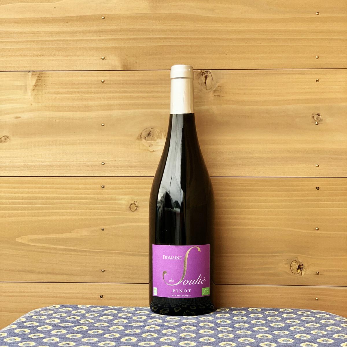 ピノ 正規激安 ノワールというより プラムのような印象の軽い口当たりの赤 未使用 幅広いお料理に合わせやすい1本です ラングドック地方 フランス 赤ワイン 自然派ワイン ノワール スーリエ '14 ドメーヌ