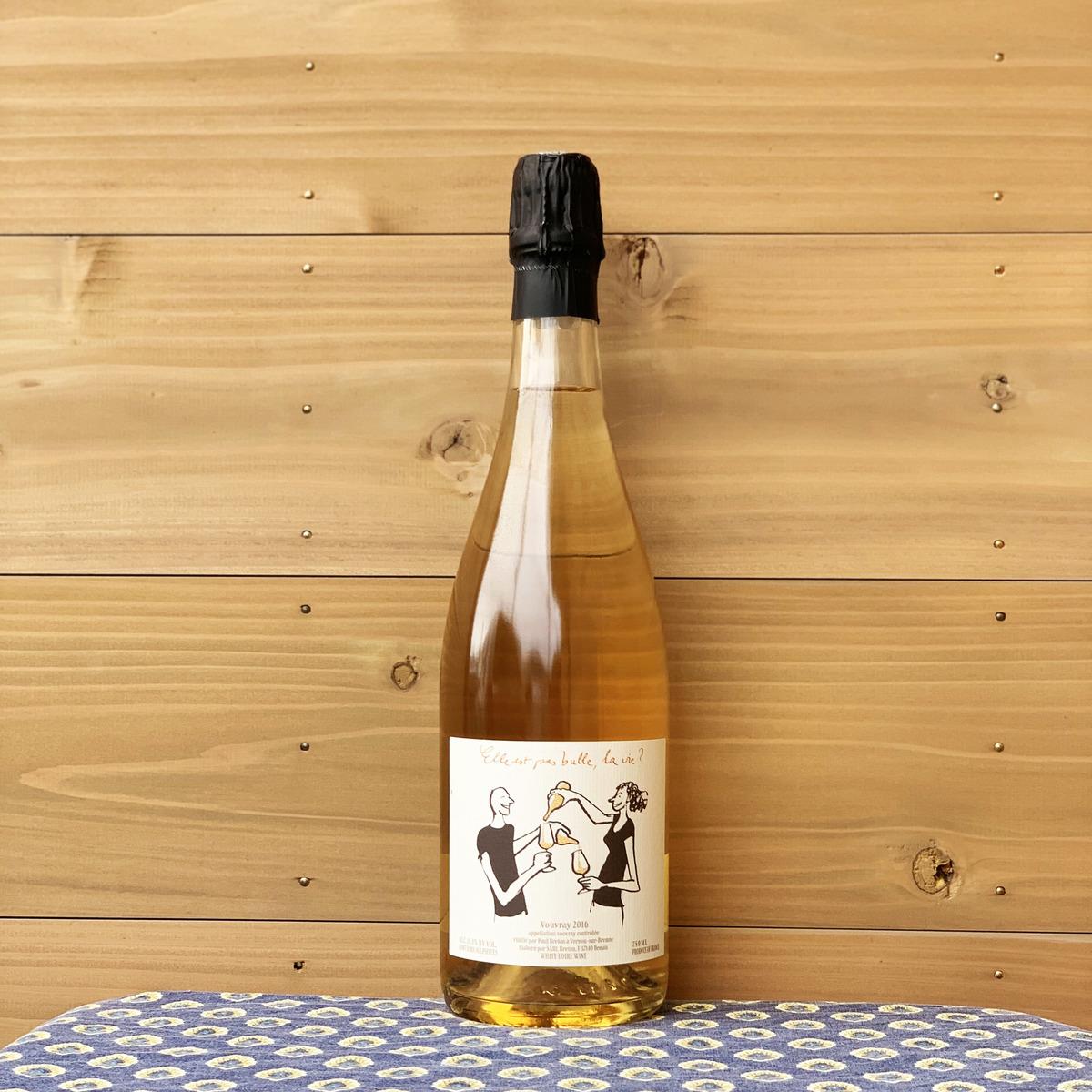 価格交渉OK送料無料 実力派生産者カトリーヌとピエールのブルトン夫妻の長男ポールのリリースしたスパークリングワインです ロワール地方 代引き不可 フランス ドメーヌ ブルトン エレ パ '16 ラ 自然派ワイン スパークリングワイン ヴィー ビュル