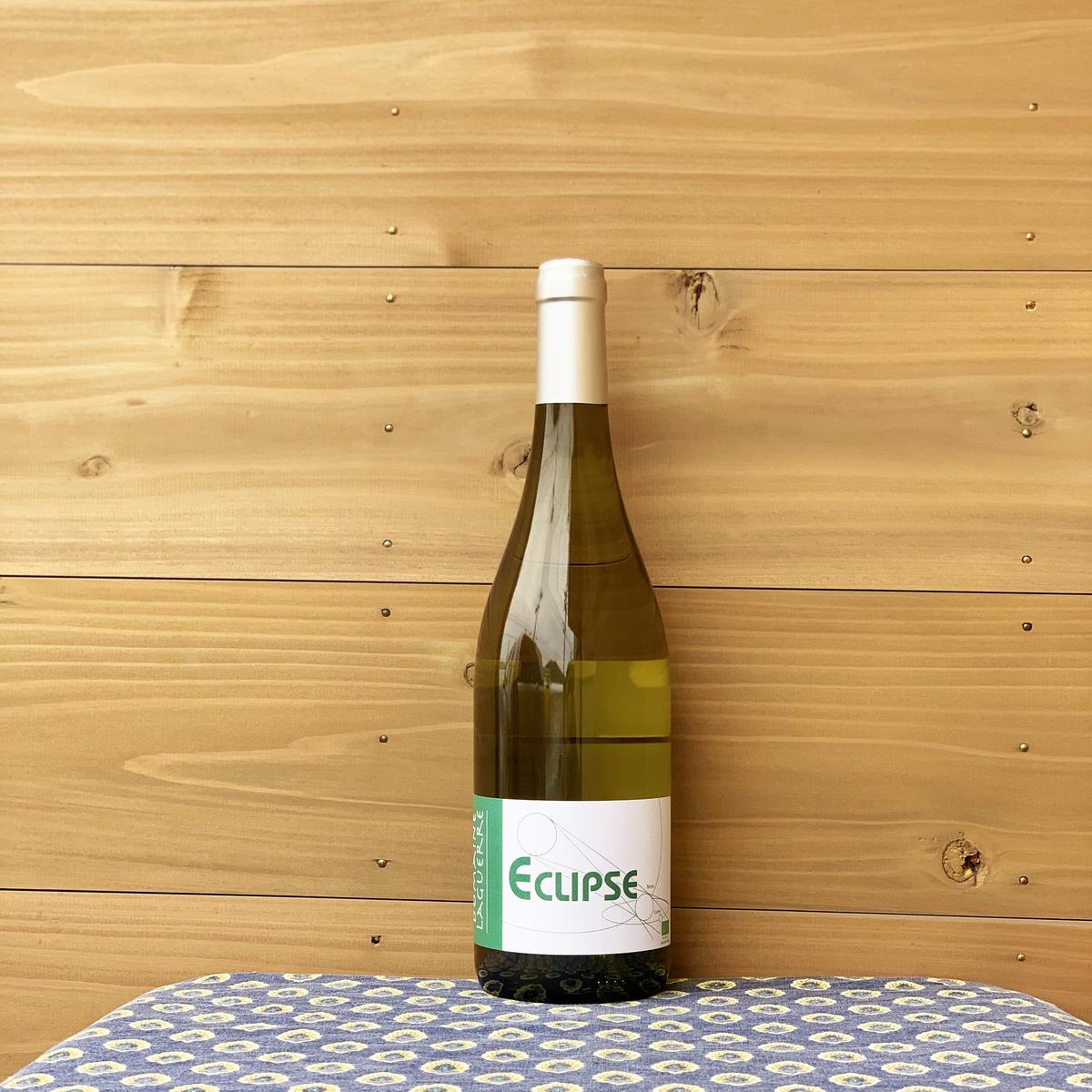 果実味たっぷり 旨味もたっぷり それでいてきれいな酸とミネラルが感じられるバランスの良い1本 ドメーヌ 激安超特価 ラゲール エクリプス フランス 白ワイン '16 自然派ワイン ブラン ルシヨン地方 セール特価品