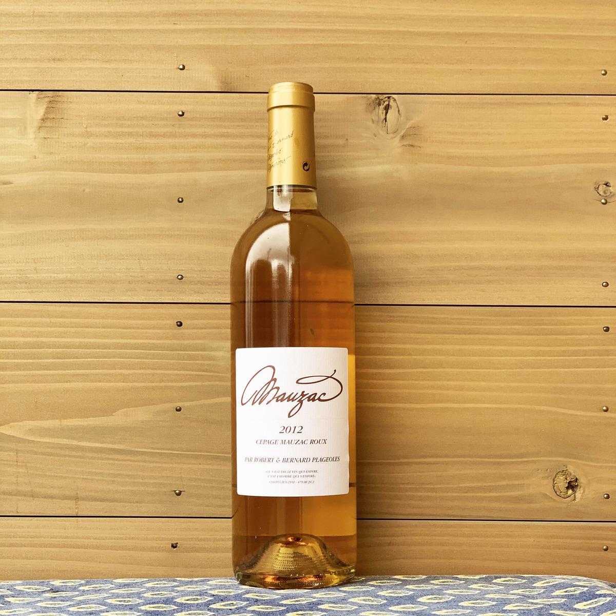 テロワールの個性を活かした品種 造りに定評のある生産者の甘口白ワインです 南西地方 フランス 低価格 ベルナール プラジョル 甘口 ルー 送料0円 2012 白ワイン 自然派ワイン モーザック