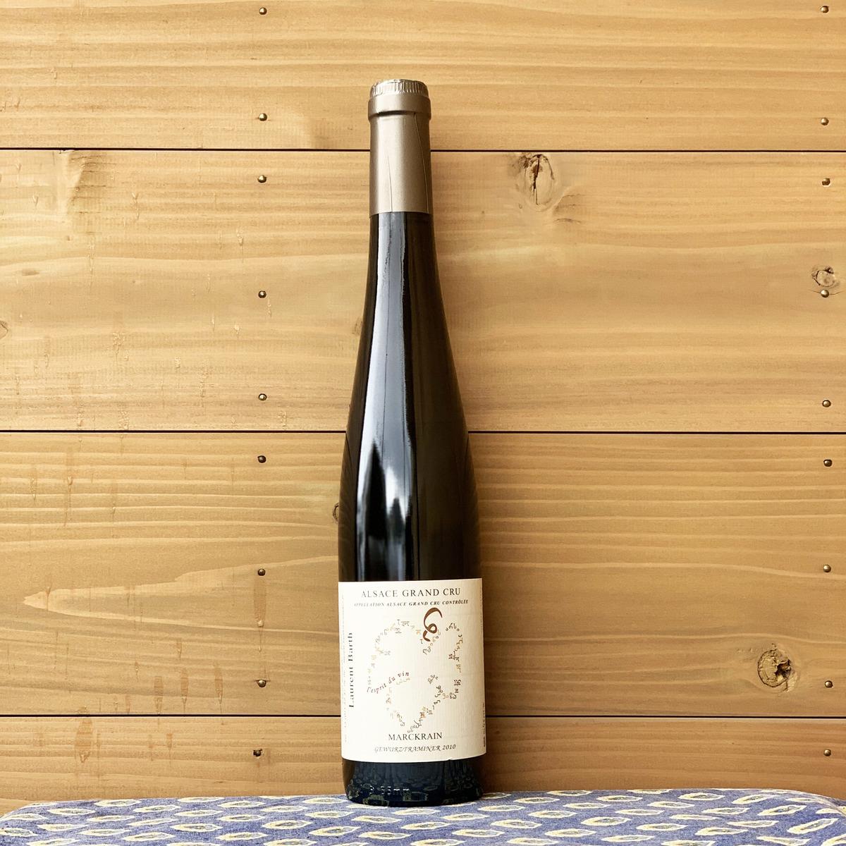 香りが豊かで上品な甘味が特徴 人気の生産者です 新作続 アルザス地方 フランス ローラン バルツ グランクリュ 自然派ワイン お洒落 白ワイン '08 ゲヴュルツトラミネール マルクレン