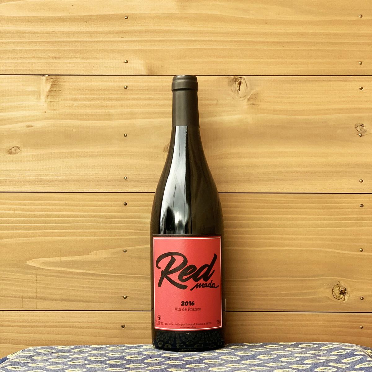 ラングドックの新星 エドワード アダムによる赤ワイン ラングドック地方 贈呈 フランス ドメーヌ 与え '16 レッド 自然派ワイン 赤ワイン マダ