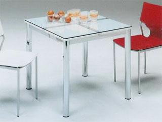 ガラスダイニングテーブル テーブル ガラス大人気スタイリッシュなシンプルガラステーブルNフレスコ 80ダイニングテーブルのみ 【02P03Dec16】