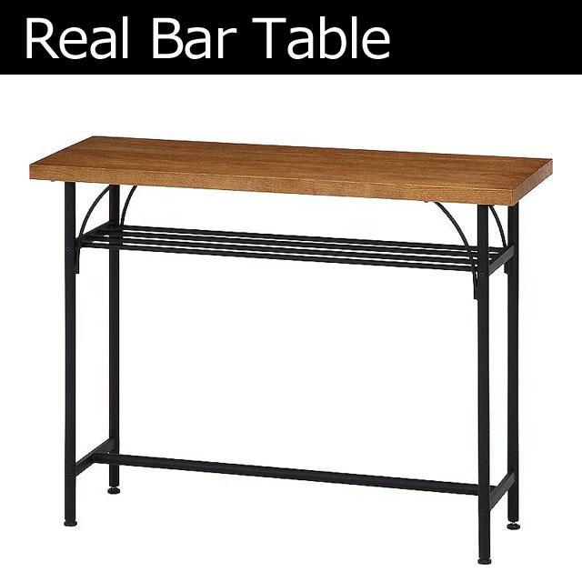 カウンターテーブル 木製 アンティーク 北欧 スチール アイアン バーテーブル アイアン シンプル おしゃれ カフェスタイル BARテーブル 木目テーブル お洒落★レアル カウンターテーブル