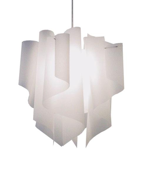 透明感のあるオーロラをイメージしたデザイン【DI CLASSE(ディ クラッセ)】 ペンダントランプ Auro M pendant lamp グッドデザイン賞 シェードのドレープ ★アウロM ペンダントランプ収納インテリア【02P03Dec16】